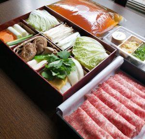 そばしゃぶ総本家 浪花そば 心斎橋本店では当店自慢の鍋「厳選和牛蕎麦しゃぶ」の通販を始めました